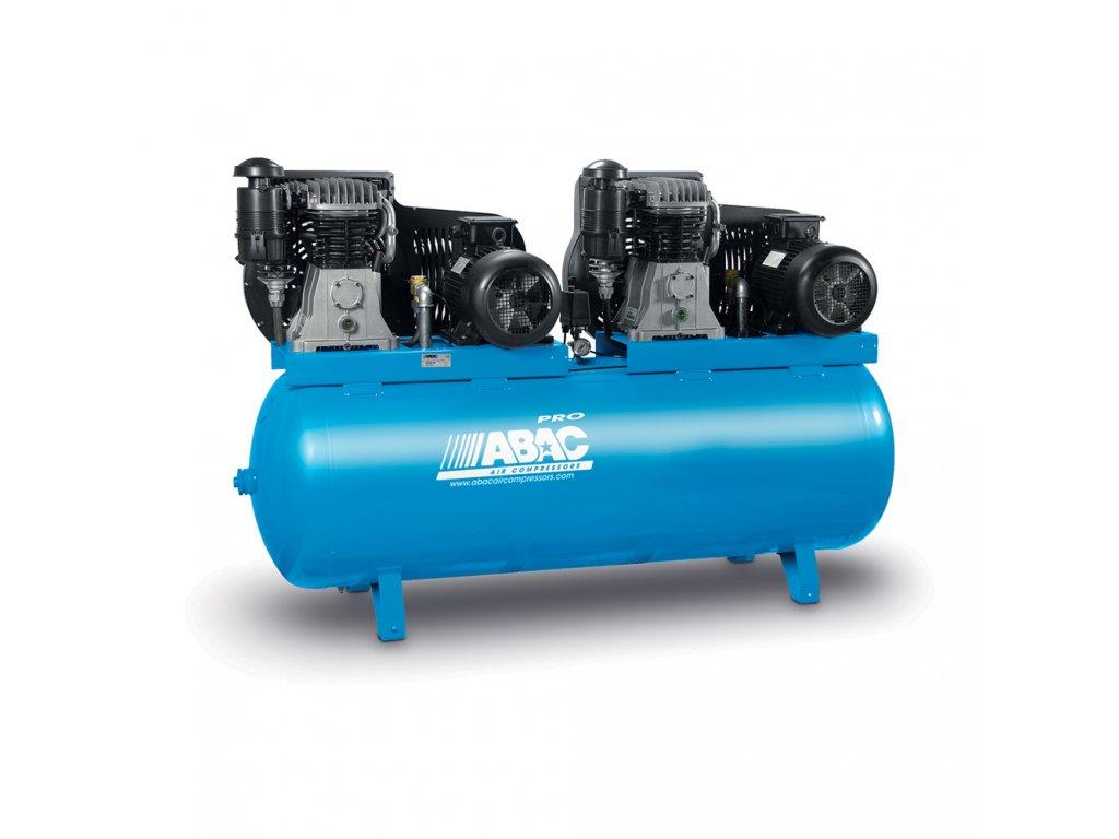 Kompresor Pro Line B70-2x7,5-900FT  príkon 15 kW, sací výkon 2 420 l/min, tlak 11 bar, vzdušník 900 l, napätie 400/50 V/Hz