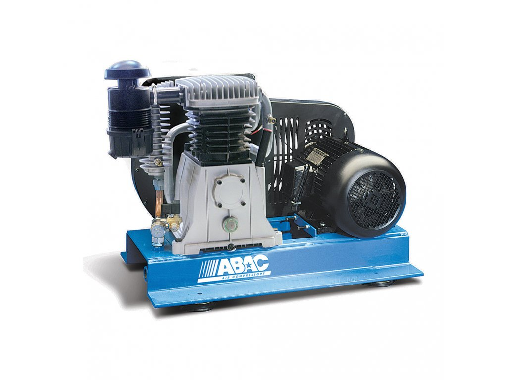 Kompresor Pro Line B60-5,5-T  príkon 5,5 kW, sací výkon 827 l/min, tlak 11 bar, bez vzdušníku, napätie 400/50 V/Hz