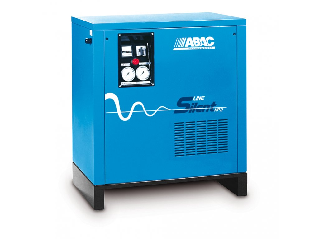 Odhlučnený kompresor Silent Line A29B-2,2-27TZ  príkon 2,2 kW, sací výkon 320 l/min, tlak 10 bar, vzdušník 27 l, napätie 400/50 V/Hz