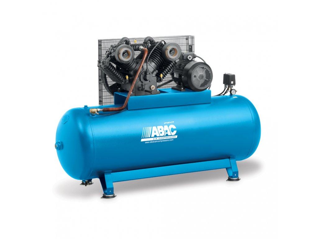 Kompresor Pro Line CA1-4-500FT  príkon 4 kW, sací výkon 530 l/min, tlak 11 bar, vzdušník 500 l, napätie 400/50 V/Hz