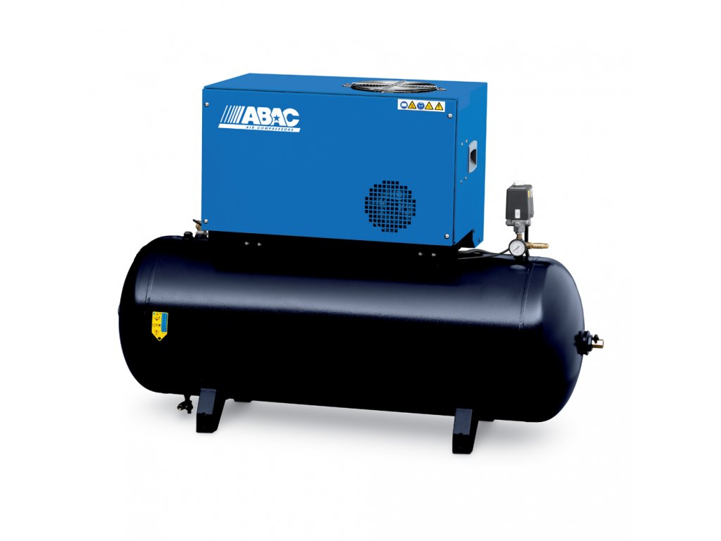 Odhlučnený kompresor Silent Line SLN-4-500FTX  príkon 4 kW, sací výkon 660 l/min, tlak 11 bar, vzdušník 500 l, napätie 400/50 V/Hz