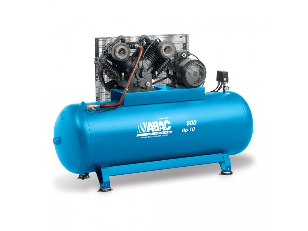 Kompresor Pro Line CA2-7,5-500FTX  príkon 7,5 kW, sací výkon 1 056 l/min, tlak 11 bar, vzdušník 500 l, napätie 400/50 V/Hz