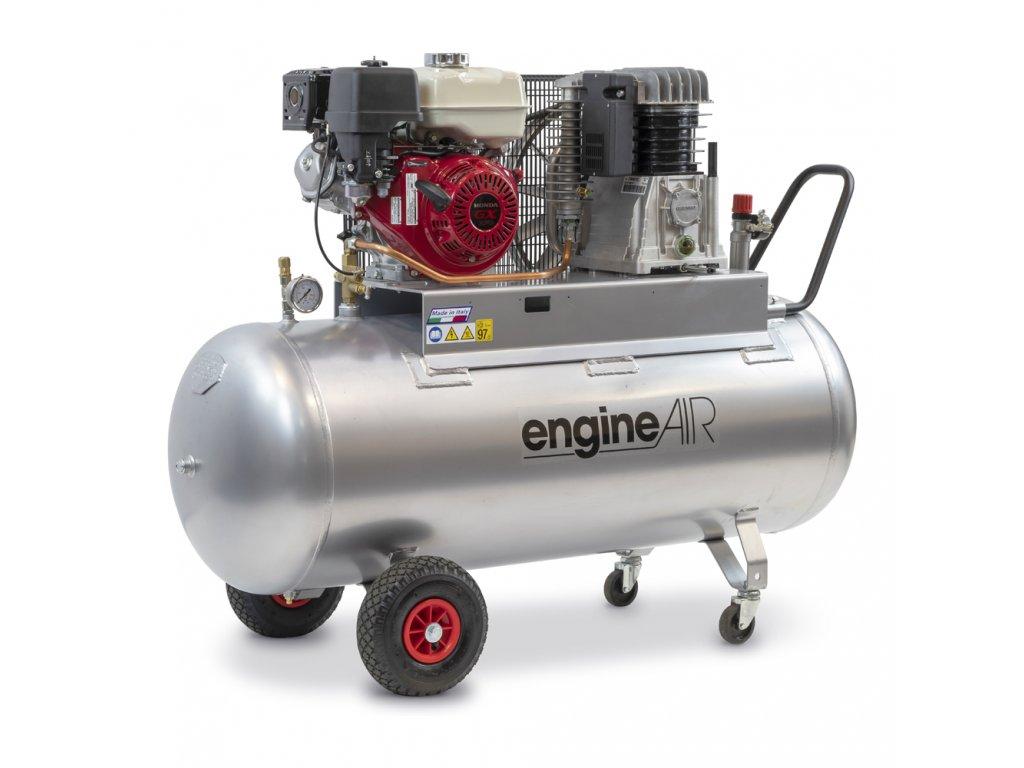Benzínový kompresor Engine Air EA9-6,2-270CP  príkon 6,2 kW, sací výkon 552 l/min, tlak 10 bar, vzdušník 270 l