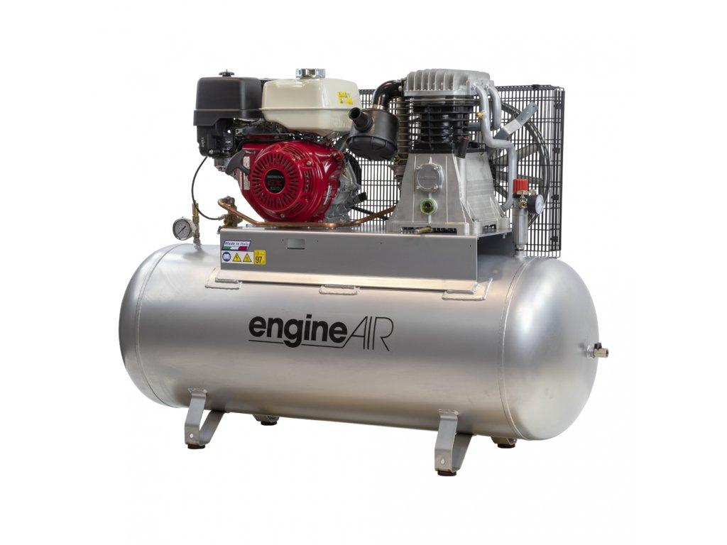 Benzínový kompresor Engine Air EA12-8,7-270FP  príkon 8,7 kW, sací výkon 676 l/min, tlak 10 bar, vzdušník 270 l