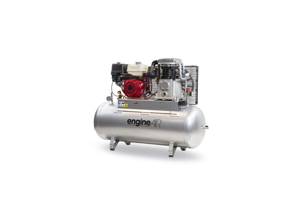 Benzínový kompresor Engine Air EA13-8,7-270FPH  príkon 8,7 kW, sací výkon 972 l/min, tlak 14 bar, vzdušník 270 l