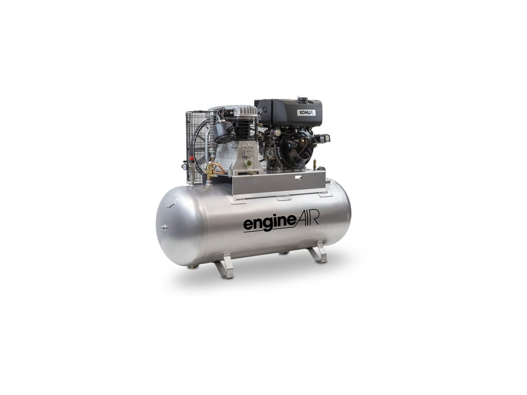 Dieselový kompresor Engine Air EA10-7,5-270FD  príkon 7,5 kW, sací výkon 727 l/min, tlak 10 bar, vzdušník 270 l