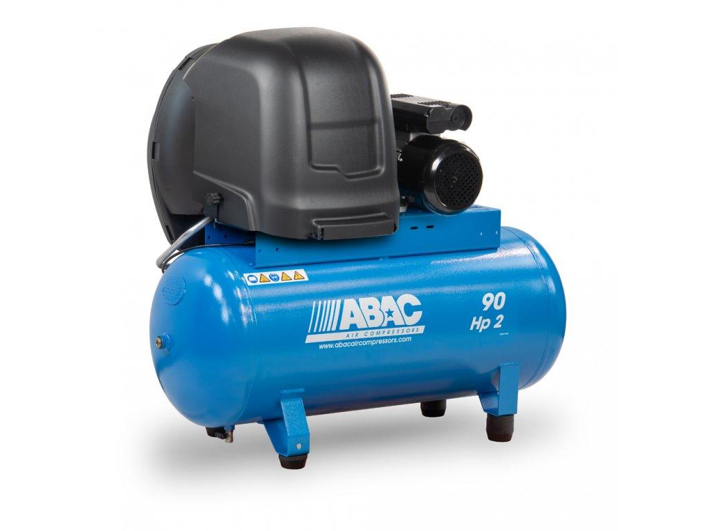 Odhlučnený kompresor Silent Line A29B-1,5-90FMS  príkon 1,5 kW, sací výkon 255 l/min, tlak 10 bar, vzdušník 90 l, napätie 230/50 V/Hz