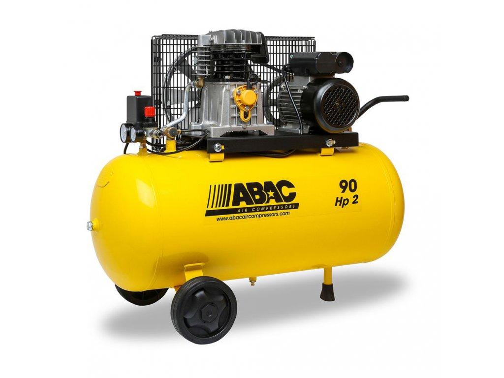 Kompresor Base Line BA29-1,5-90CM  príkon 1,5 kW, sací výkon 255 l/min, tlak 10 bar, vzdušník 90 l, napätie 230/50 V/Hz