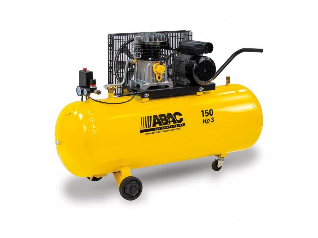 Kompresor Base Line BA29B-2,2-150CM  príkon 2,2 kW, sání 320 l/min, tlak 10 bar, vzdušník 150 l, napätie 230/50 V/Hz