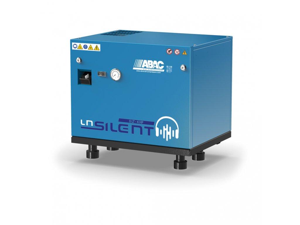 Odhlučnený kompresor Silent LN A39B-3-L1T  príkon 3 kW, sací výkon 490 l/min, tlak 10 bar, bez vzdušníka, napätie 400/50 V/Hz