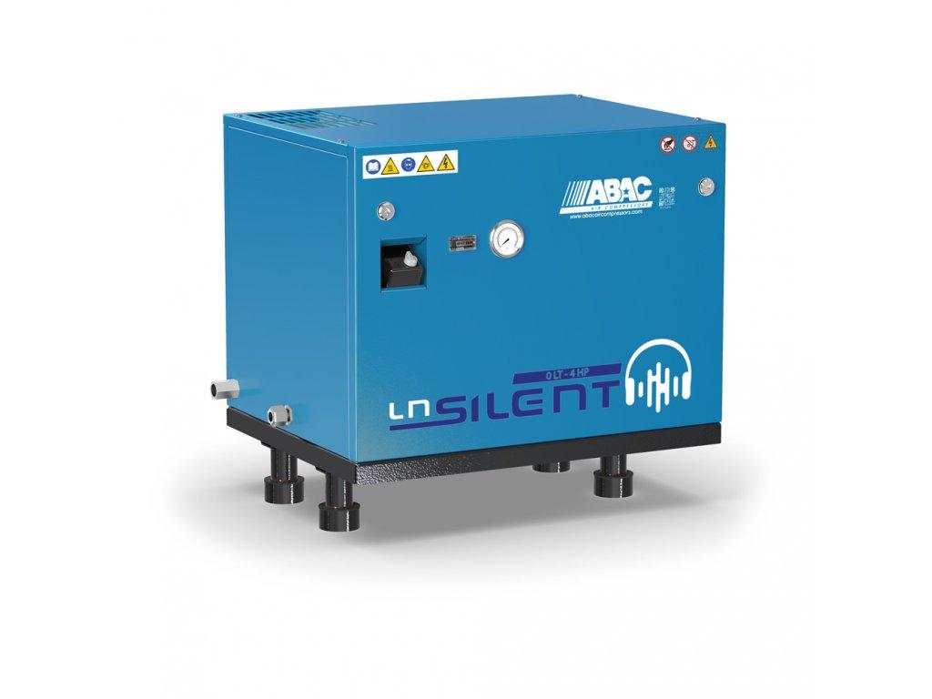 Odhlučnený kompresor Silent LN A49B-3-L1T  príkon 3 kW, sací výkon 553 l/min, tlak 11 bar, bez vzdušníka, napätie 400/50 V/Hz