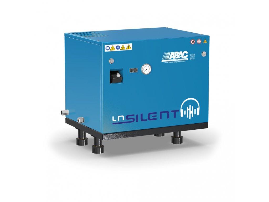 Odhlučnený kompresor Silent LN B59-4-L1T  príkon 4 kW, sací výkon 570 l/min, tlak 11 bar, bez vzdušníka, napätie 400/50 V/Hz