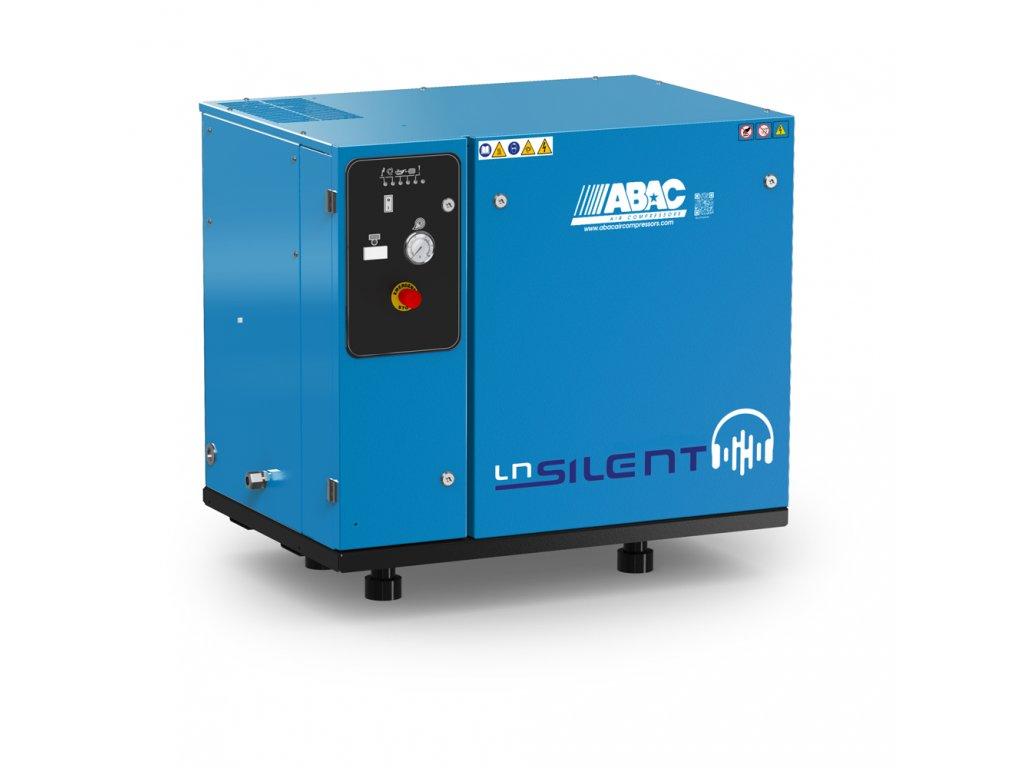 Odhlučnený kompresor Silent LN B70-7,5-L2T  príkon 7,5 kW, sací výkon 1070 l/min, tlak 11 bar, bez vzdušníka, napätie 400/50 V/Hz