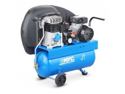 Kompresor Pro Line A29-1,5-27CM  príkon 1,5 kW, sací výkon 255 l/min, tlak 10 bar, vzdušník 27 l, napätie 230/50 V/Hz