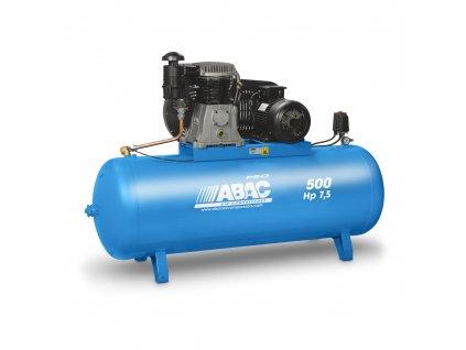 Kompresor Pro Line B60-5,5-500FTXH  príkon 5,5 kW, sací výkon 570 l/min, tlak 15 bar, vzdušník 500 l, napätie 400/50 V/Hz
