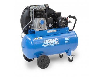Kompresor Pro Line A49B-2,2-100CT  príkon 2,2 kW, sací výkon 444 l/min, tlak 11 bar, vzdušník 100 l, napätie 400/50 V/Hz