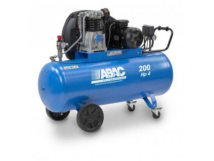 Kompresor Pro Line A49B-3-200CT  príkon 3 kW, sací výkon 553 l/min, tlak 11 bar, vzdušník 200 l, napätie 400/50 V/Hz