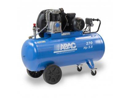 Kompresor Pro Line A49B-4-270CT  príkon 4 kW, sací výkon 595 l/min, tlak 11 bar, vzdušník 270 l, napätie 400/50 V/Hz