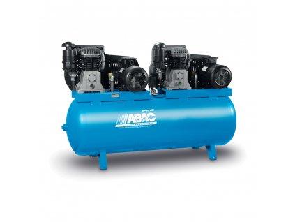 Kompresor Pro Line B59B-2x4-500FT  príkon 8 kW, sací výkon 1 306 l/min, tlak 11 bar, vzdušník 500 l, napätie 400/50 V/Hz