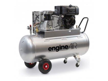 Dieselový kompresor Engine Air EA6-5,2-270CD  príkon 5,2 kW, sací výkon 470 l/min, tlak 10 bar, vzdušník 270 l