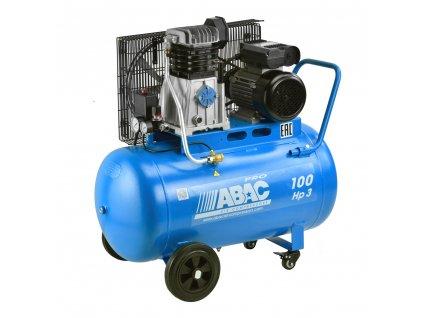Kompresor Pro Line A39X-2,2-100CM  príkon 2,2 kW, sací výkon 393 l/min, tlak 10 bar, vzdušník 100 l, napätie 230/50 V/Hz