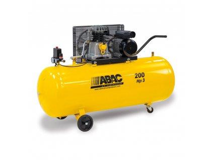 Kompresor Base Line BA29B-2,2-200CM  príkon 2,2 kW, sání 320 l/min, tlak 10 bar, vzdušník 200 l, nap. 230/50 V/Hz