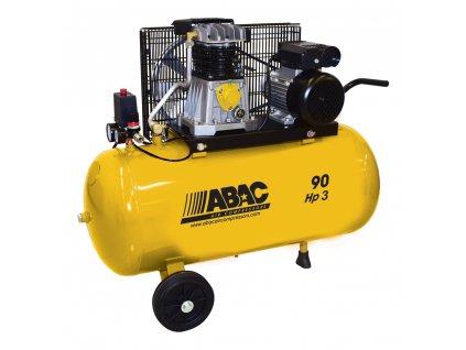 Kompresor Base Line BA29B-2,2-90CM  príkon 2,2 kW, sání 320 l/min, tlak 10 bar, vzdušník 90 l, nap. 230/50 V/Hz