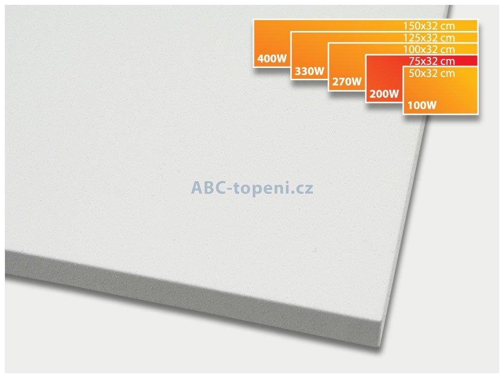 infrapanel ECOSUN 200K+ bílá
