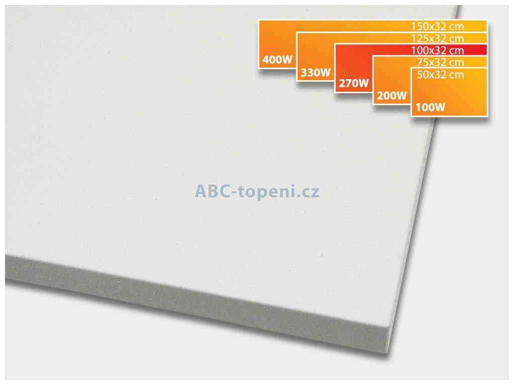 infrapanel ECOSUN 270K+ bílá