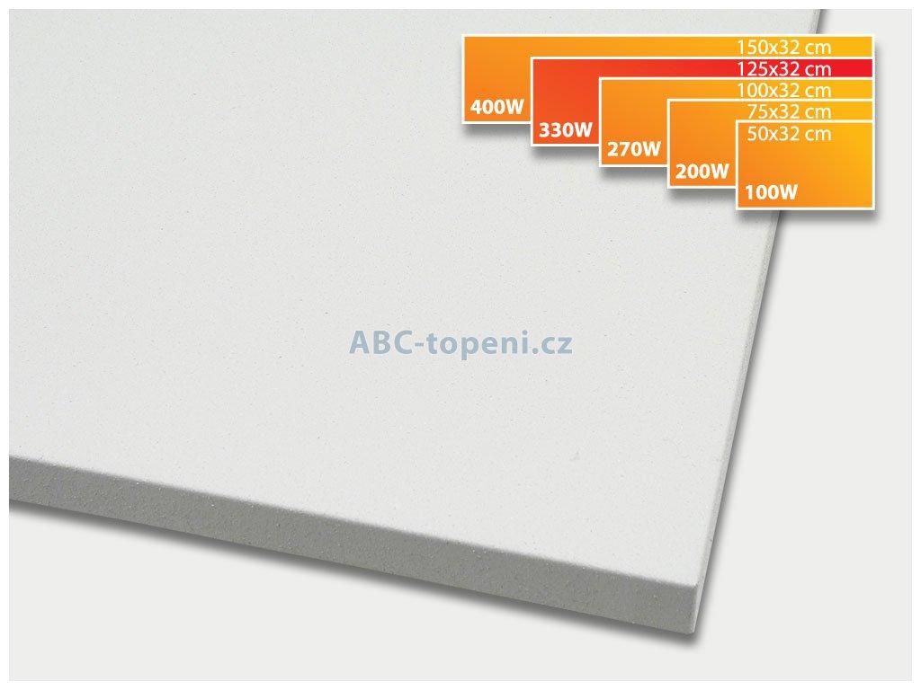 infrapanel ECOSUN 330K+ bílá