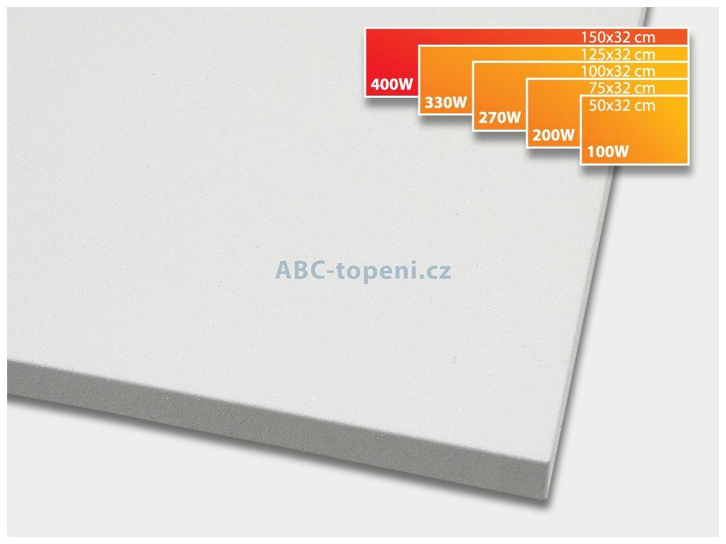 infrapanel ECOSUN 400K+ bílá