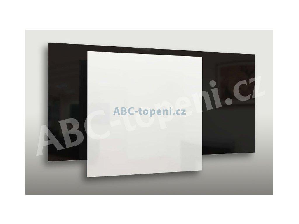 8069 fenix ecosun 300 gs white bezramovy skleneny topny panel