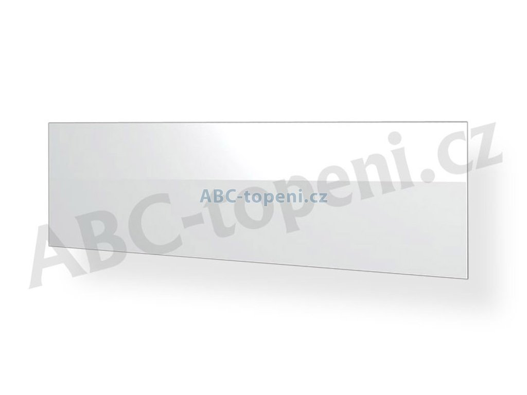 8099 fenix ecosun 500 gs white skleneny infrapanel do koupelny bily 500w