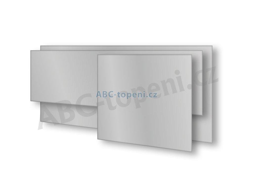 8102 fenix ecosun 500 gs platinum grey skleneny panel 500w sedostribrna