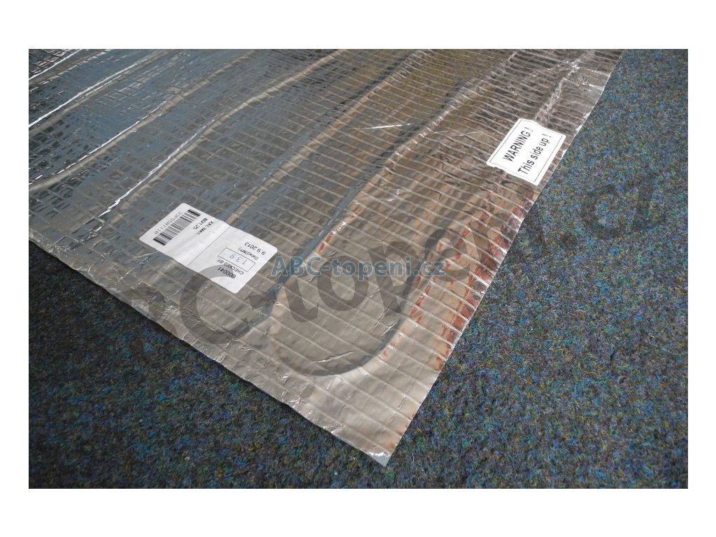 8726 fenix topna rohoz pod plovouci podlahy al mat 140 2 do koupelny