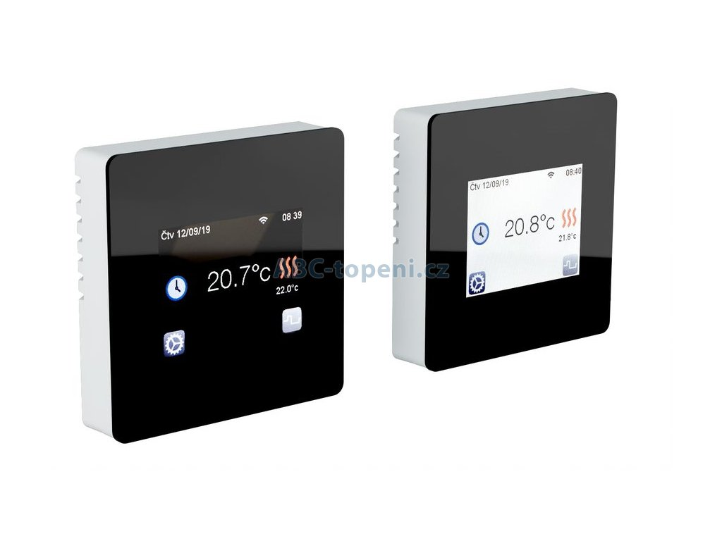 Termostat Fenix TFT WIFI Black
