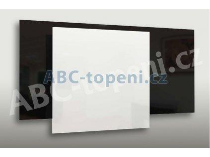 8078 fenix ecosun 300 gs black bezramovy skleneny topny panel