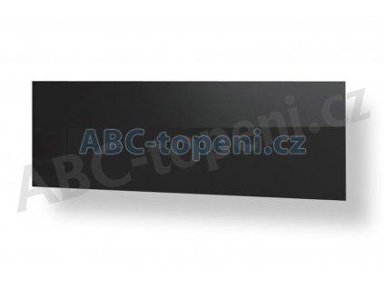 8105 fenix ecosun 500 gs black skleneny infrapanel do koupelny bily 500w
