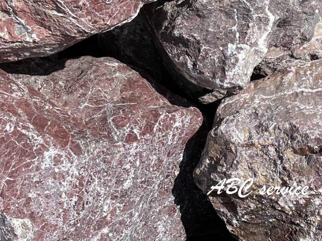 Kámen lomový - Atlas Red