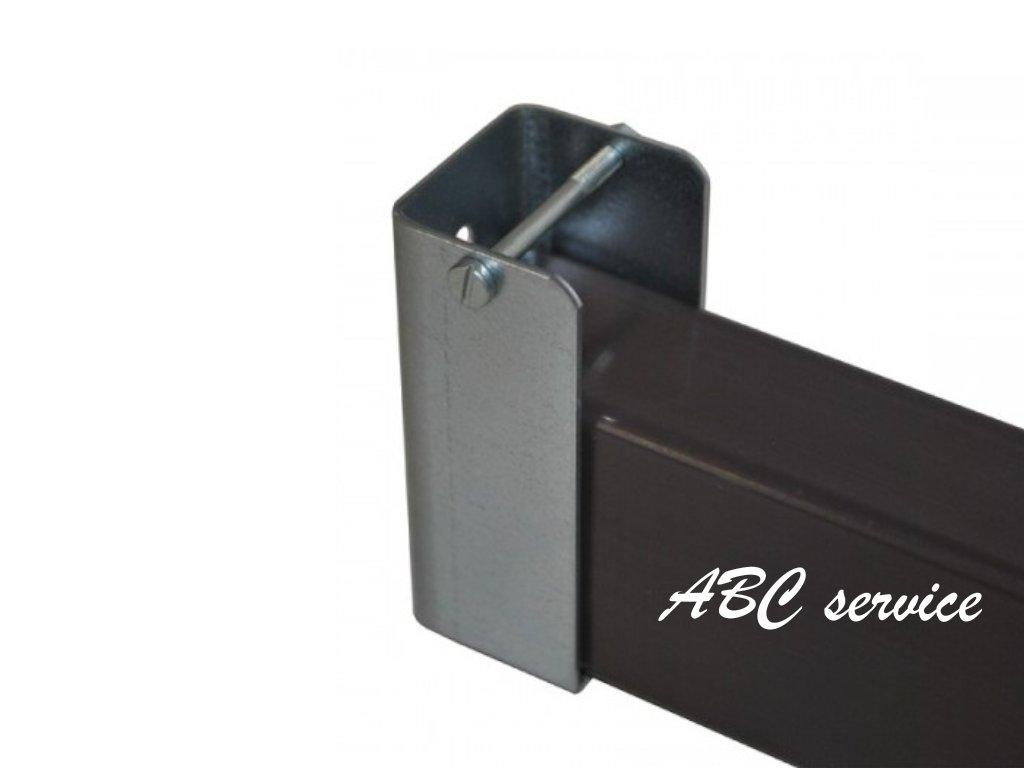 ÚCHYTKA JEKLU 75 × 35 × 30 mm ZINKOVANÁ 1024x768