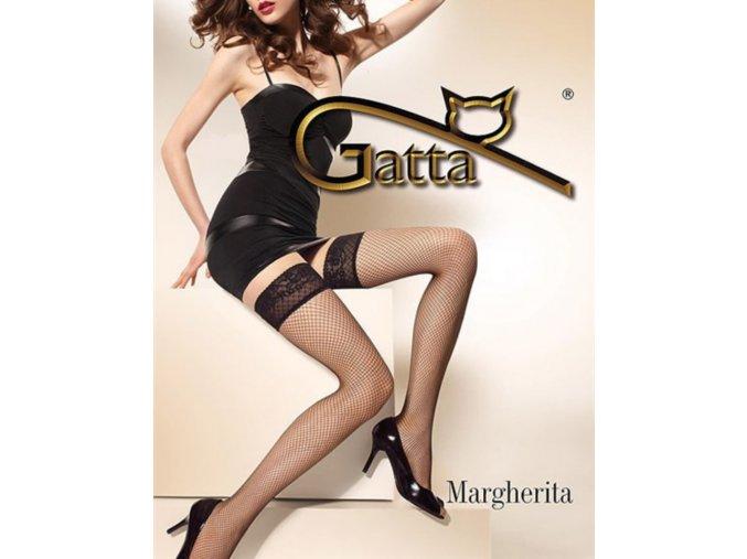 Čierne samodržiace sieťované pančuchy Margherita, 15 den