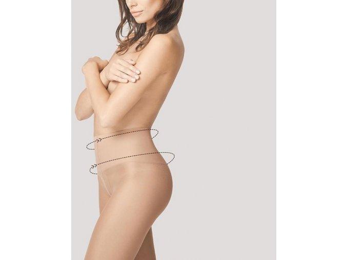 Sťahujúce pančuchy Body Care Fit Control 20 DEN. Sťahujúce a tvarujúce pančuchové nohavice korigujúce bruško. Pančuchy nemajú zosilnený sed, ani prsty. priehľadné, tvarujúce, sťahujúce, tenké.