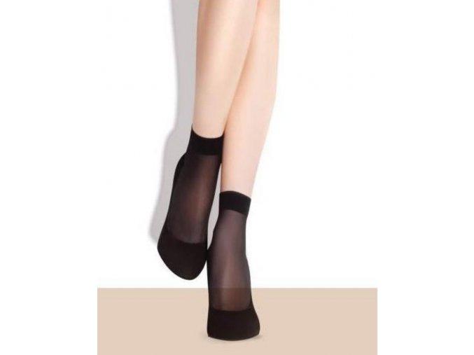 Dámske ponožky Classic Maja Socks 15 DEN, Ponožky hladké, nesťahujúce bez zosilnenej špičky. Balené 2 páry v krabičke. vo farbe: mocca, steel, tan, light natural, black,  86% polyamid, 14% elastan, univerzálna veľkosť one size