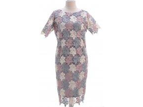 Elegantné krajkové šaty s podšívkou