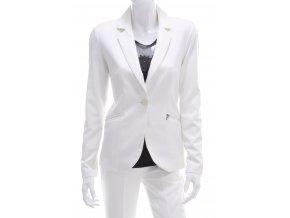 Dámske biele sako