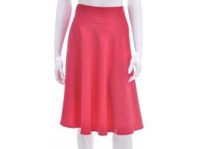 Žiarivo ružová sukňa