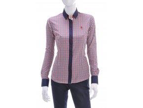Dámska károvaná košeľa