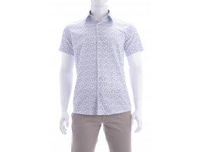 Sivá vzorovaná košeľa
