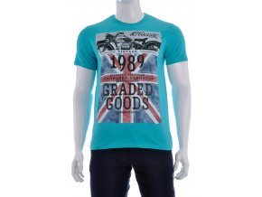 Tyrkysové tričko 1989