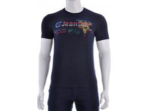 Tmavo modré športové tričko